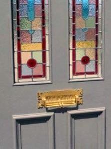 GLAZED EXTERNAL DOORS