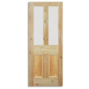 glazed pine doors