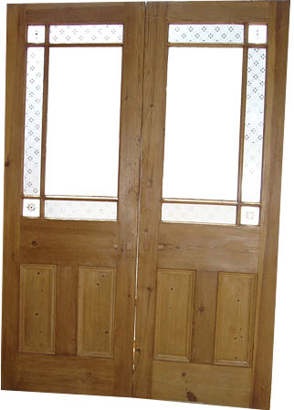 Salvaged Doors Glasgow & Salvaged Hinged Pair Oak Doors/Screens
