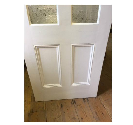 solid pine door painted white empress safety glass interior stunning. Black Bedroom Furniture Sets. Home Design Ideas