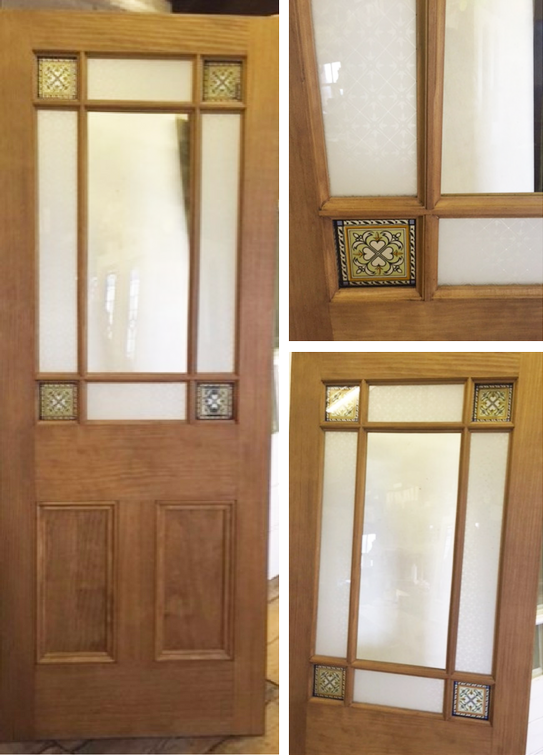 Victorian Style 9 Panel Interior Door New Wood Solid