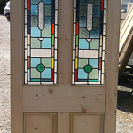 Internal Stained Glass Doors by Period Projects Door Company Southampton, Hampshire