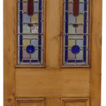 internal stained glass doors