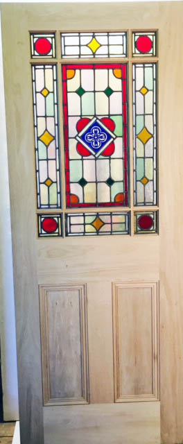 stained glass doors uk