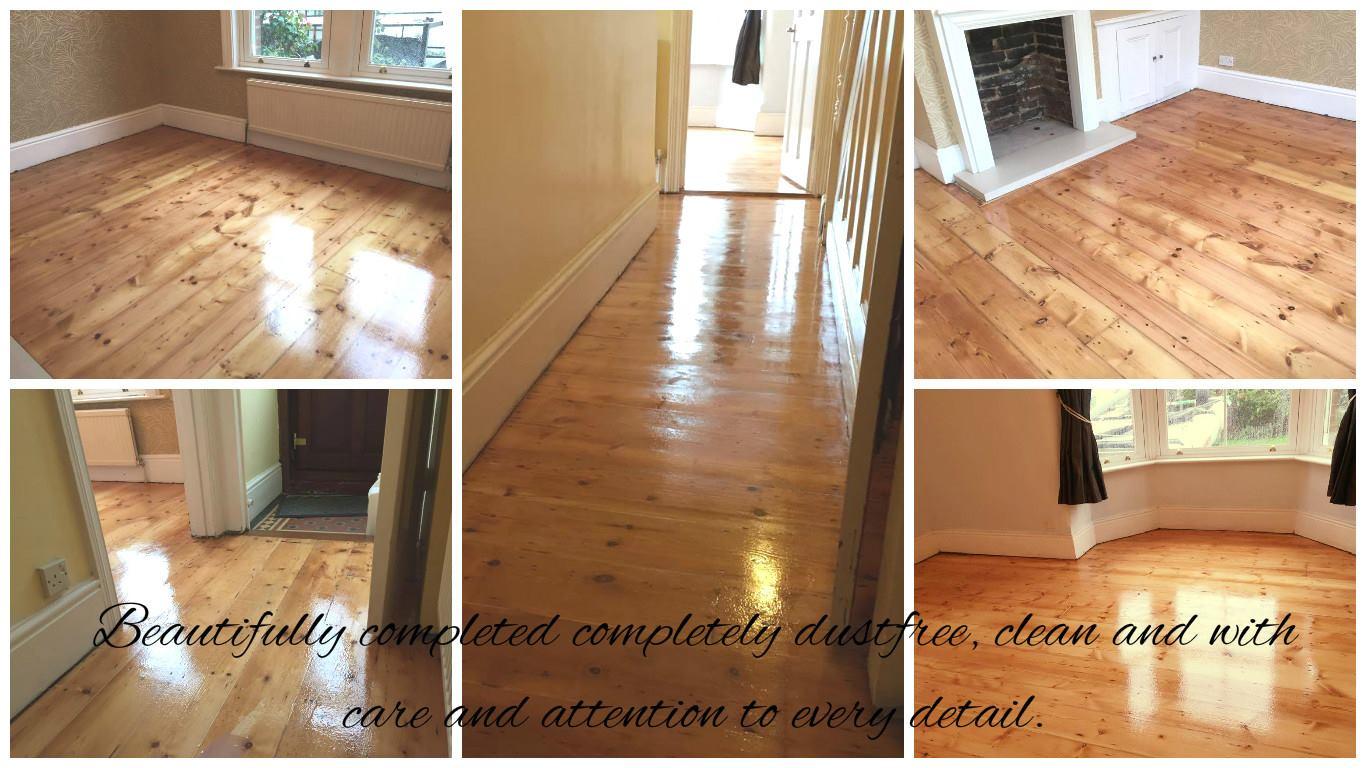 Dust Free Floor Sanding London Period Projects