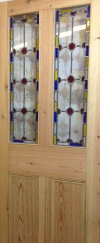 stained glass doors london