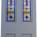 Louis Stained Glass Pine Doors London
