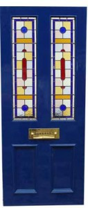 stained glass door company kent