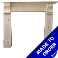 Made to measure pine fire surround period projects