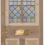 glass stained pine doors southampton
