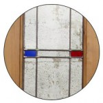 Made-to-Measure Stained Glass Door