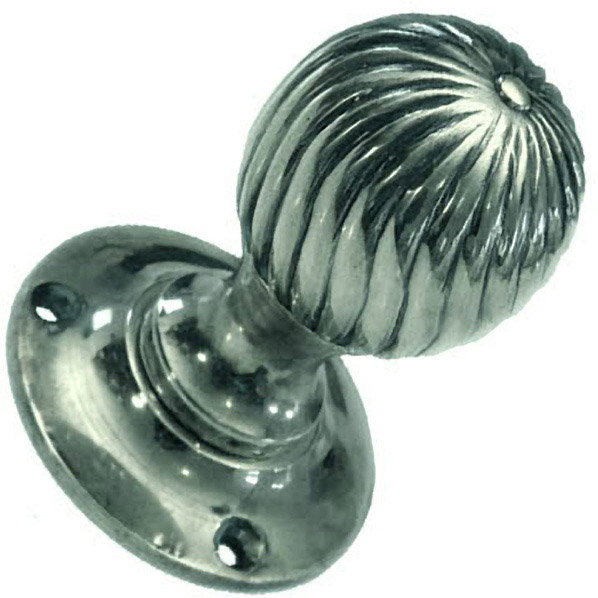 nickel door knobs devon