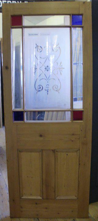 Stained Glass Door Company Southampton Pine Door