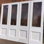 bi fold reclaimed pine doors cornwall