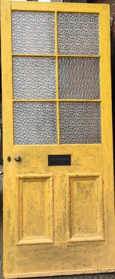 victorian pine external door dorset