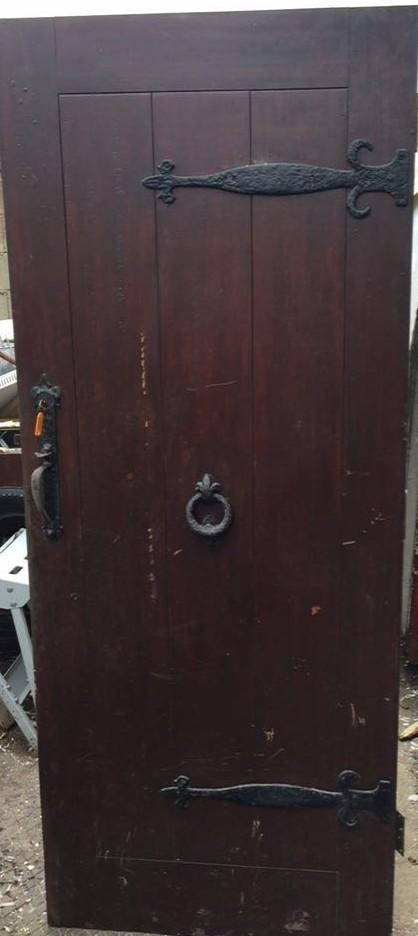 mahogany external door wiltshire