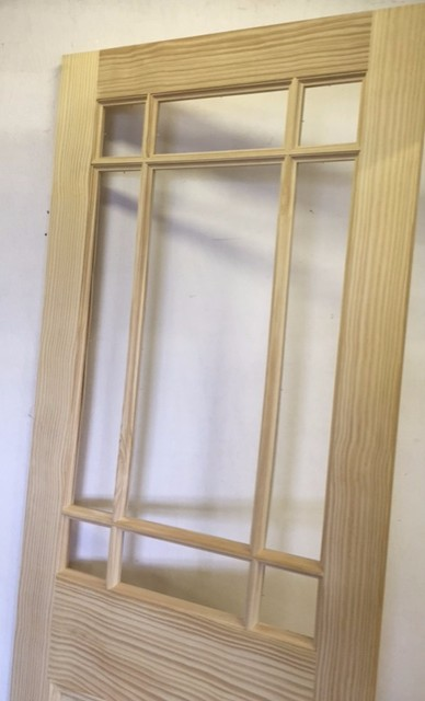NEW SOLID 9 Panel Pine INTERIOR Door Solid UNFINISHED UNGLAZED 30