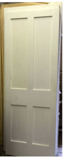 lightbox & Ex Show Room Square Edge Reclaimed Pine Bespoke Door - Solid ...
