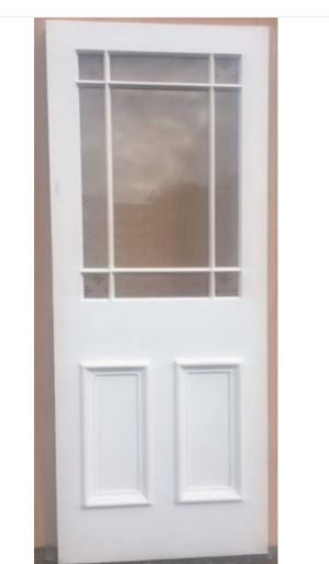 Stunning Pine Exterior New Door Ex Stock 9 Panel Glazed Door